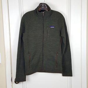 Patagonia | Dark Brown Full Zip Better Sweater S